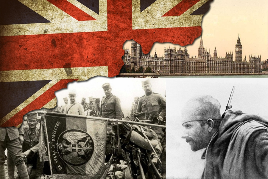 Serbia and Britain in the Great War and a hundred years later